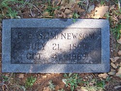 "Eugene Elbert ""Slim"" Newsom"