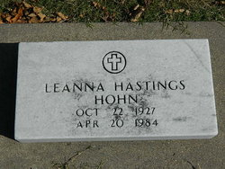 Leanna <I>Riley</I> Hastings