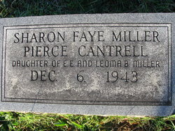 Sharon Faye <I>Miller</I> Cantrell