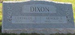 Gertrude B Dixon