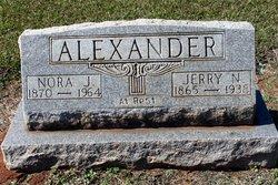 Nora Jane <I>Austin</I> Alexander