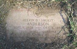 """Melvin Dean """"Shorty"""" Anderson"""