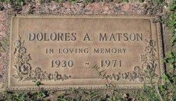Dolores Ann <I>Dykas</I> Matson