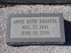 Annie Ruth Emanuel