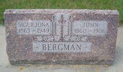"""Jon G """"John"""" <I>Gudnason</I> Bergman"""
