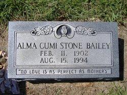 Alma Cumi <I>Stone</I> Bailey