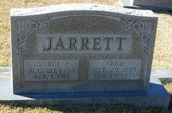 Genie <I>Jones</I> Jarrett