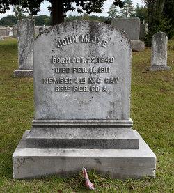 John M. Dye