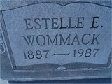 Estelle E <I>Syfrett</I> Wommack