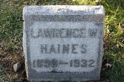 Lawrence W Haines