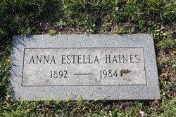 Anna Estella Haines