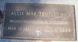 Allie Mae Templeton