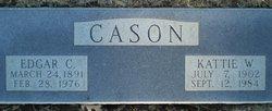 Edgar C Cason