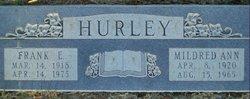 Mildred Ann <I>Rollen</I> Hurley