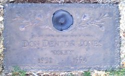 "Don Denton ""Corky"" Jones"