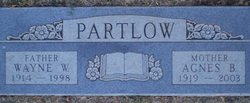 "Agnes Louise ""Gertrude"" <I>Byers</I> Partlow"