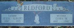 Cora Margaret <I>Simmons</I> Redford