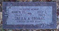 Sheila A Thomas