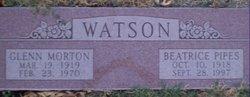 Beatrice <I>Pipes</I> Watson