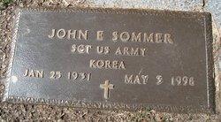 John E Sommer