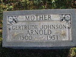 Gertrude <I>Johnson</I> Arnold