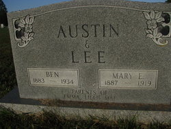 Mary E <I>Lee</I> Austin