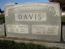 Jonelle <I>Simmons</I> Davis