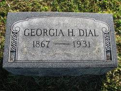 Georgia H. <I>Waddle</I> Dial