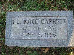 """T D """"Butch"""" Garrett"""