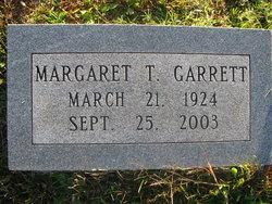 Margaret T Garrett