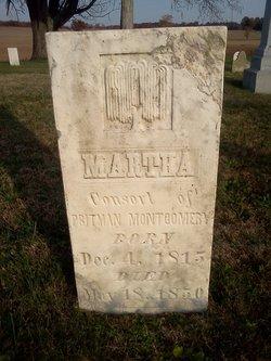 Martha <I>Prewett</I> Montgomery