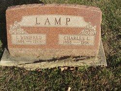 Lena Winifred <I>Carrier</I> Lamp