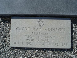 Clyde Ray Addison