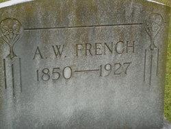 A. W. French