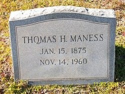 Thomas Hackney Maness
