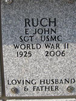 Edward John Ruch
