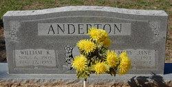 Mary Jane <I>Hillhouse</I> Anderton