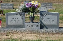 Patsy Lee <I>Carroll</I> Lambright