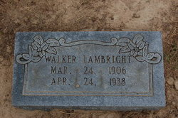 Robert Walker Lambright