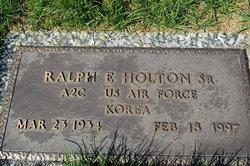 Ralph E. Holton, Sr