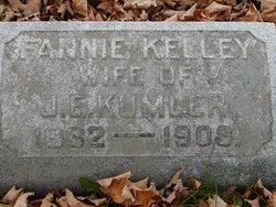 Fannie <I>Kelly</I> Kumler