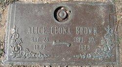 Alice Leona Brown
