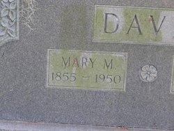 Mary Martha <I>McTeer</I> Davis