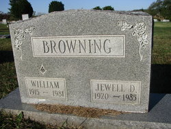 Jewell D Browning