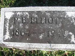 """Philander B """"Phlan"""" Elliott"""
