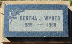 Bertha J. <I>Callison</I> Wynes