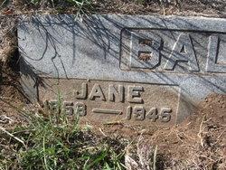 Jane <I>Sanders</I> Baltimore
