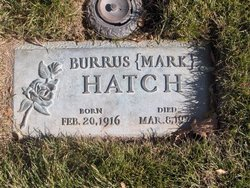 "Burrus Albert ""Mark"" Hatch"