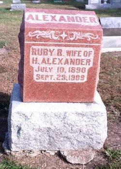 Ruby R Alexander