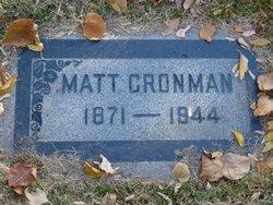 Matt Cronman